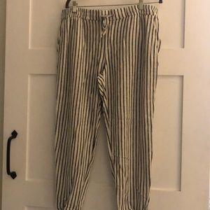 Old navy size L linen pants